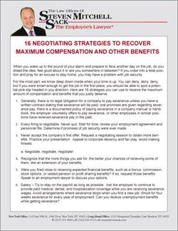 16 Negotiating Strategies to Recover Maximum Compensation